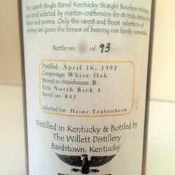 willett_15_year_bourbon_barrel_841_whiskey_keller_back_label