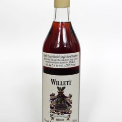 willett 17 year bouron barrel 1564 dug'z & willyz front