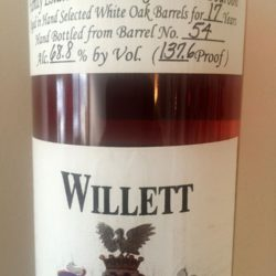 willett_17_year_bourbon_barrel_54_shoppers_vineyard_front_label