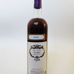 willett bourbon 21 year barrel c13a red eye back