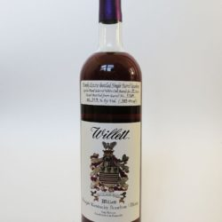 willett bourbon 21 year barrel c13a red eye front