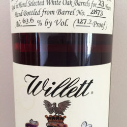 willett_23_year_bourbon_barrel_2873_my_brown_bunny_front_label