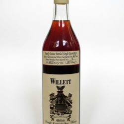 willett 23 year rye the iron fist front