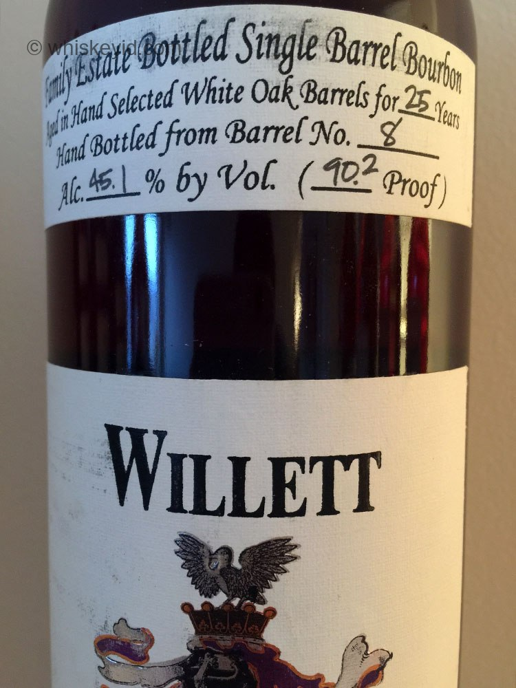 willett_25_year_bourbon_barrel_8_chocolate_monster_front_label
