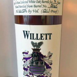 willett_4_year_bourbon_barrel_2065_green_horn_front_label