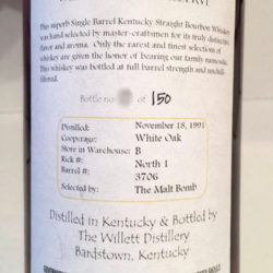 willett_family_estate_16_year_bourbon_barrel_3706_malt_bomb_back_label