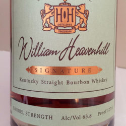 william_heavenhill_barrel_2_front_label