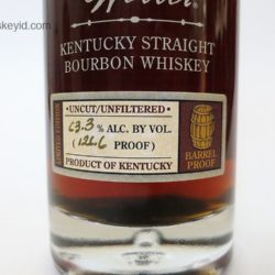 william larue weller bourbon 2010 - front label