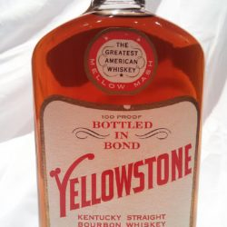 yellowstone bonded bourbon 1963 - front