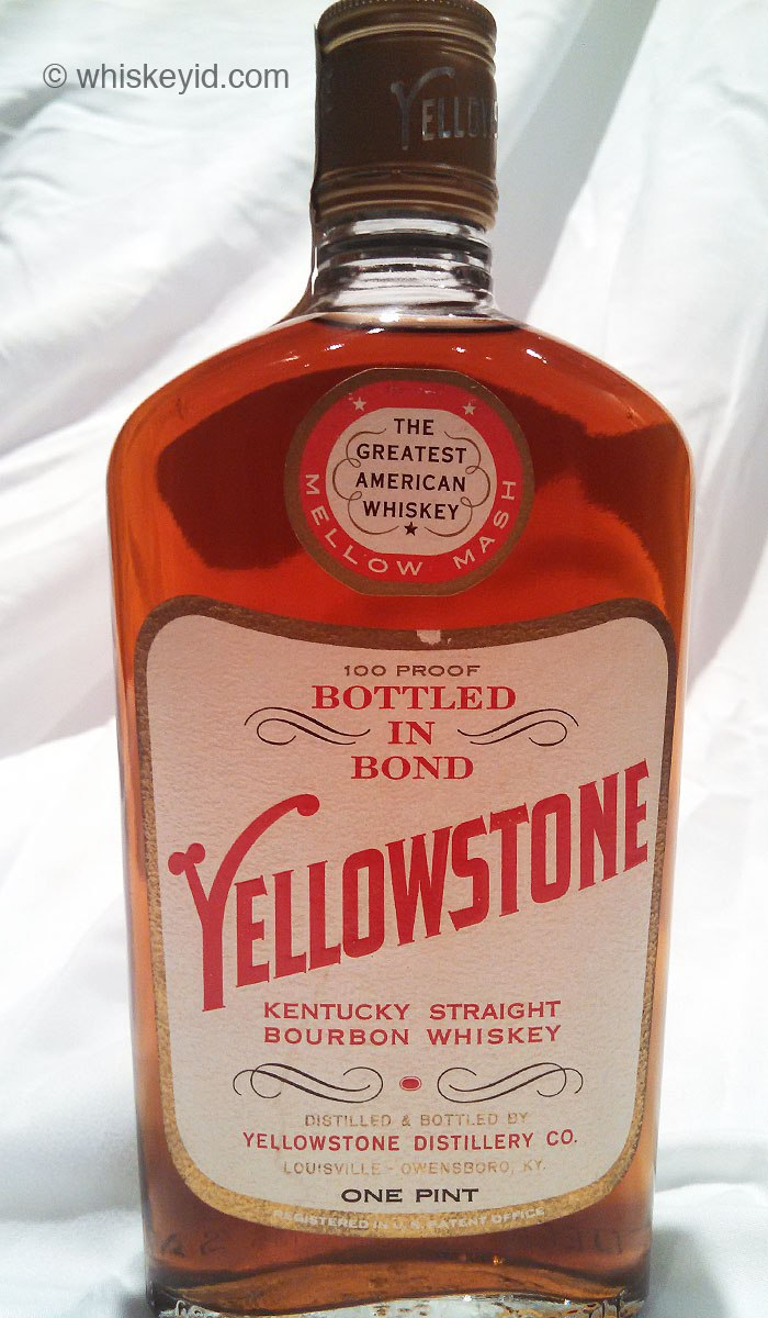 Yellowstone Bourbon Bonded 1963 Front